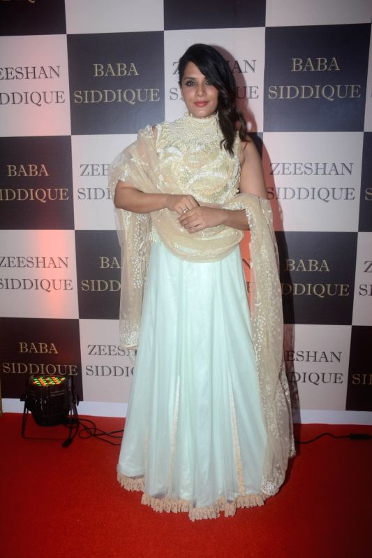 Actress Richa Chadha at politician Baba Siddique's iftar party in Mumbai on June 10, 2018. - Richa Chadha
