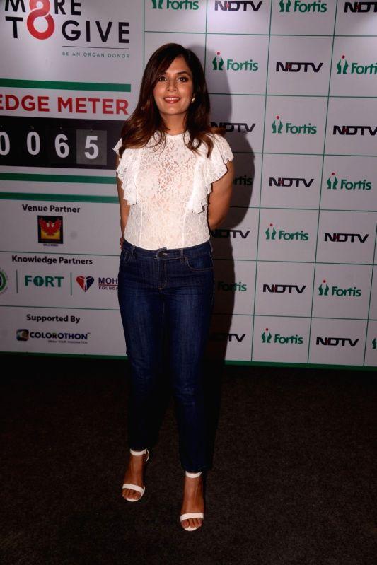 Actress Richa Chadha during a programme in Mumbai on Aug 5, 2018. - Richa Chadha