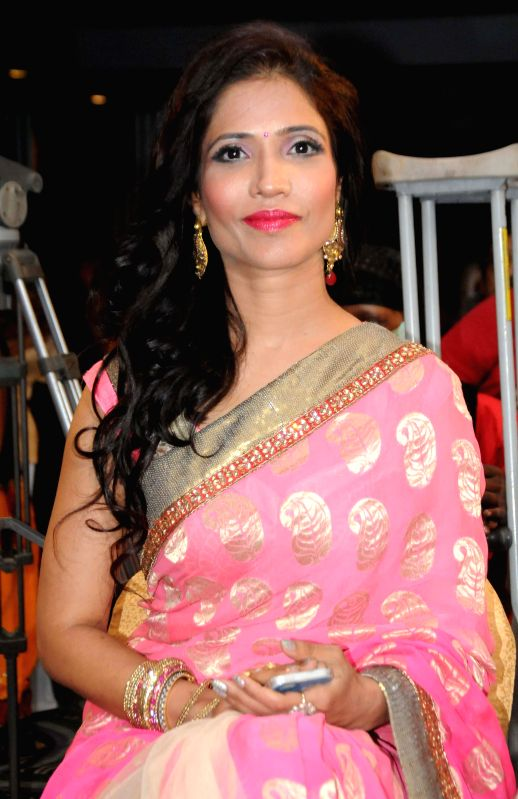 Actress Richa Sharma during a programme in Kolkata on August 1, 2014.