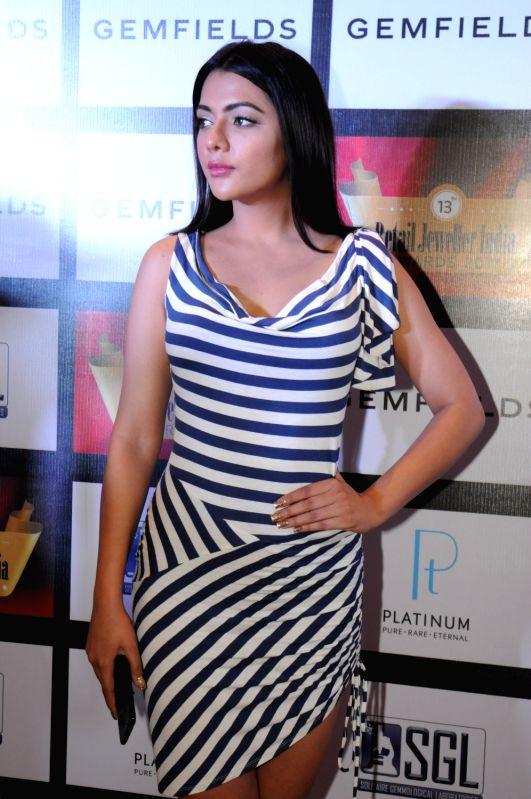 Actress Ruhi Singh during the jury meet of 13th Gemfields Retail Jeweller India Awards in Mumbai on June 3, 2017. - Ruhi Singh