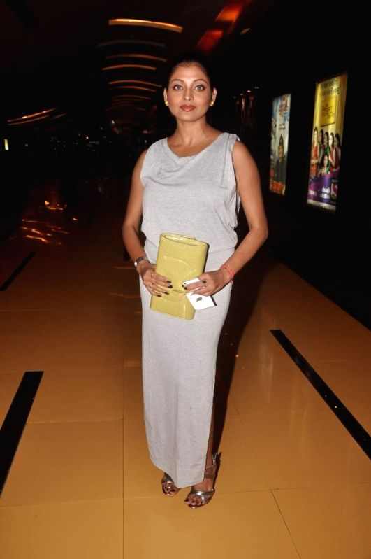 Actress Rupa Dutta during special screening of Bengali film Buno Haansh in Mumbai. - Rupa Dutta