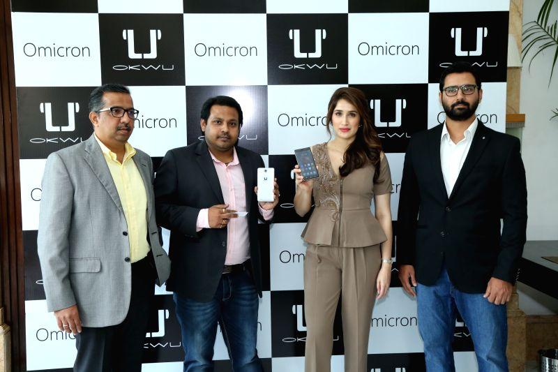 "Actress Sagarika Ghatge at the launch of Okwu's smartphone ""Omicron"" in New Delhi on May 5, 2017. - Sagarika Ghatge"