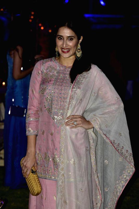 Actress Sagarika Ghatge during the Lakme Fashion Week Summer/Resort 2018 in Mumbai on Jan 31, 2018. - Sagarika Ghatge