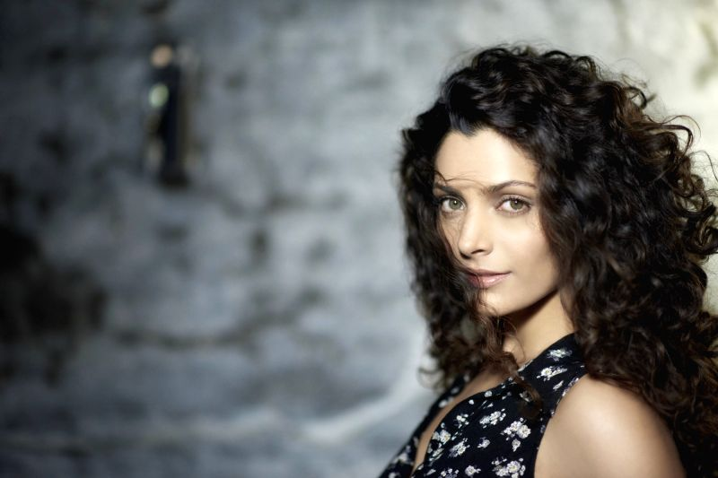 Actress Saiyami Kher during a photo shoot. - Saiyami Kher