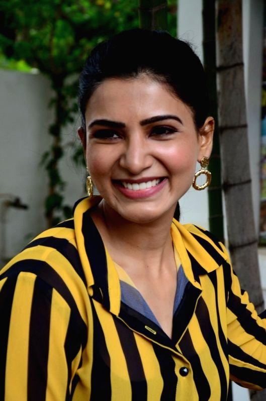 Actress Samantha Akkineni.