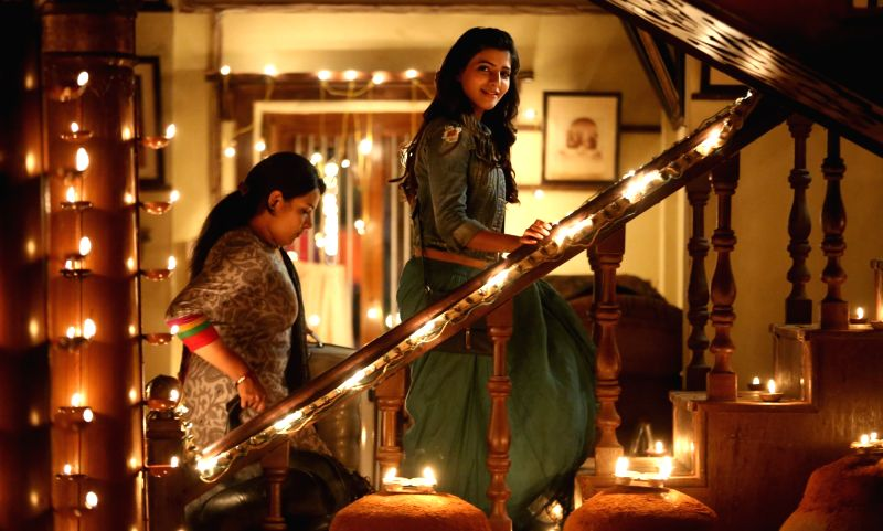 Actress Samantha at A..Aa movie  stills - Samantha