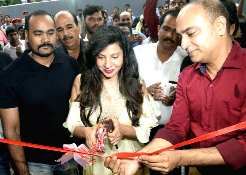 Actress Sambhavna Seth at the launch of a store, in Patna on July 28, 2018. - Sambhavna Seth