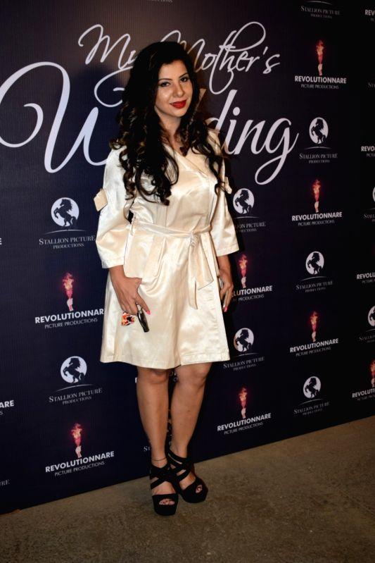 "Actress Sambhavna Seth at the screening of film ""My Mother's Wedding"" in Mumbai on Jan 28, 2018. - Sambhavna Seth"