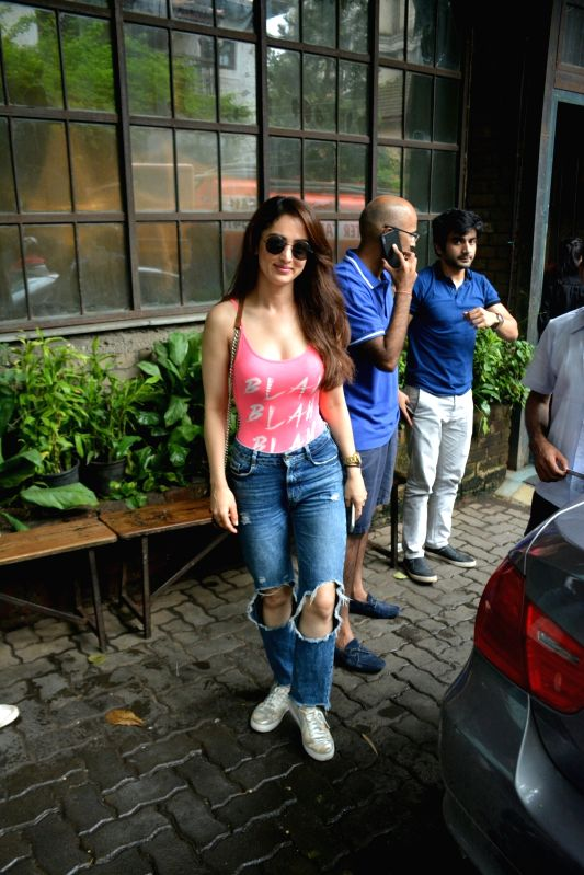 Actress Sandeepa Dhar seen in Mumbai's Bandra on July 22, 2018. - Sandeepa Dhar