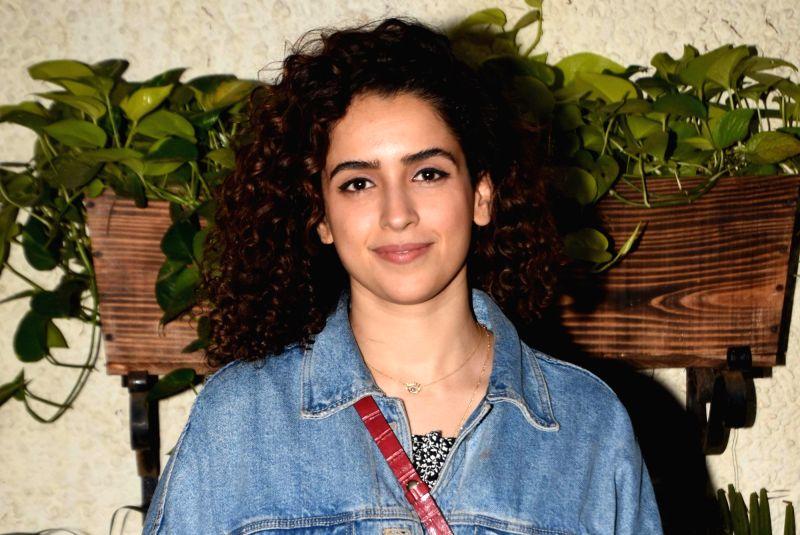 Actress Sanya Malhotra