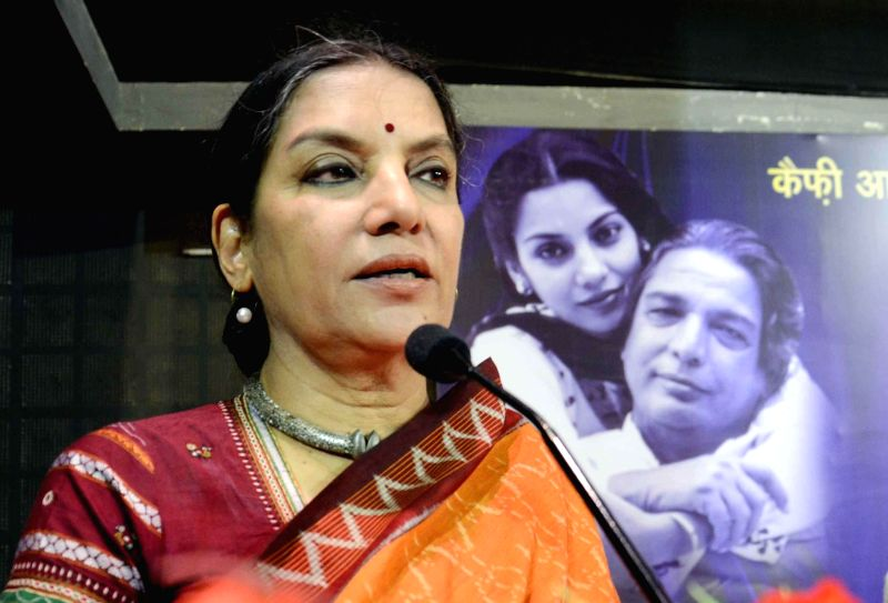 : Actress Shabana Azmi. (File Photo: IANS). - Amitabh Bachchan