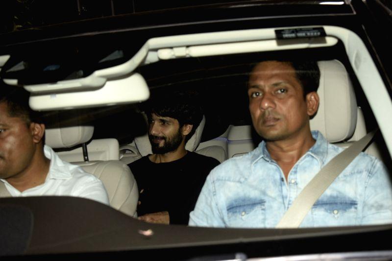 Actress Shahid Kapoor seen at a studio in Juhu, Mumbai on July 29, 2018. - Shahid Kapoor