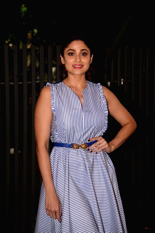 Actress Shamita Shetty during a programme in Mumbai on June 7, 2018. - Shamita Shetty
