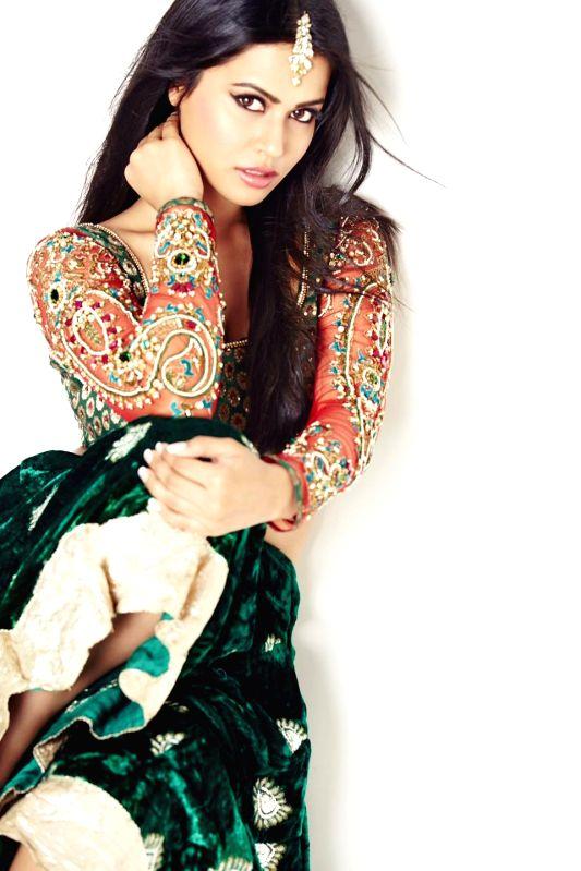 Actress Sharmiela Mandre Photoshoot.