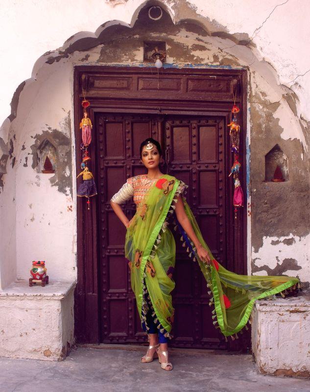 Actress Sheena Chohan during the photo shoot - Sheena Chohan