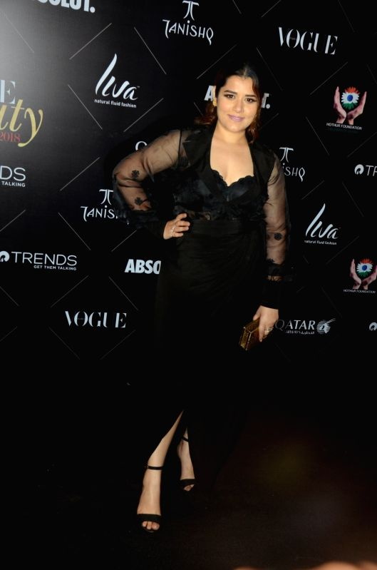 "Actress Shikha Talsania at the red carpet of ""Vogue Beauty Awards"" in Mumbai on July 31, 2018. - Shikha Talsania"