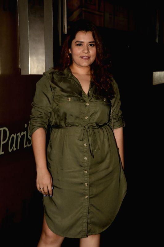 """Actress Shikha Talsania at the screening of web series """"Yeh Meri Family"""" in Mumbai on July 12, 2018. - Shikha Talsania"""