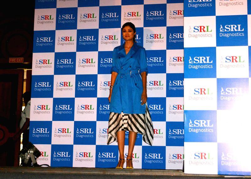 Actress Shilpa Shetty Kundra during a promotional programme in Mumbai on July 24, 2018. - Shilpa Shetty Kundra