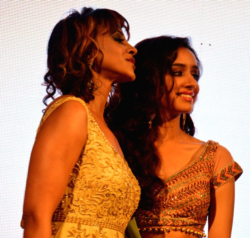 Actress Shraddha Kapoor during announcement of BMW India Bridal Fashion Week-2014 in New Delhi on July 22, 2014.