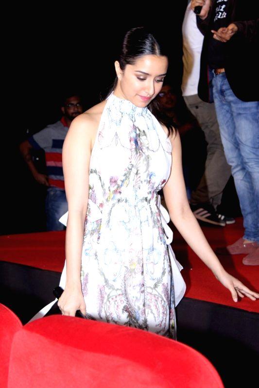 Actress Shraddha Kapoor during the trailer launch of film Half Girlfriend in Mumbai on April 10, 2017. - Shraddha Kapoor