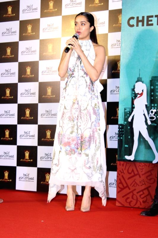 Trailer launch of film Half Girlfriend - Shraddha Kapoor