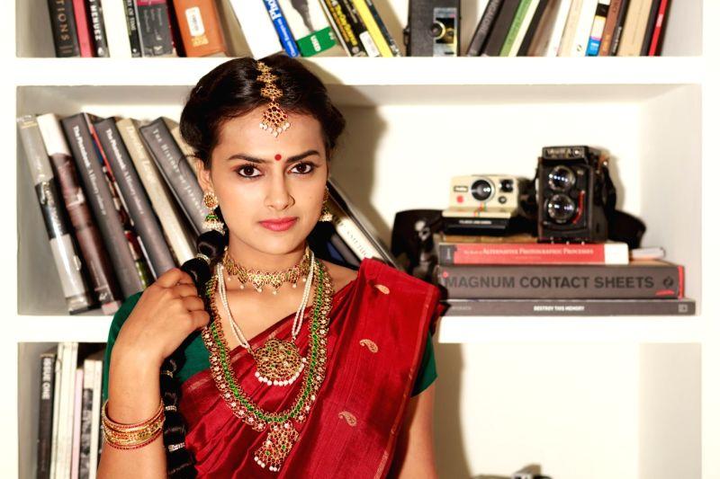 Actress Shraddha Srinath poses during a photoshoot. - Shraddha Srinath