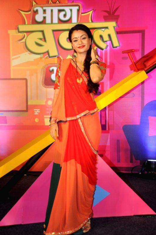 "Actress Shruti Rawat during the launch of TV serial ""Bhaag Bakool Bhaag"" in Mumbai on May 11, 2017. - Shruti Rawat"