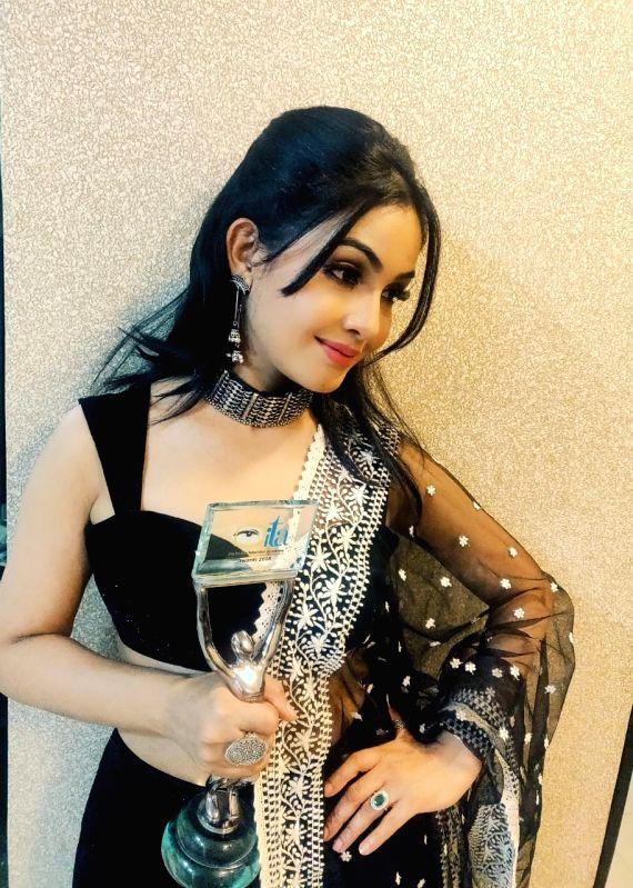 Actress Shubhangi Atre.