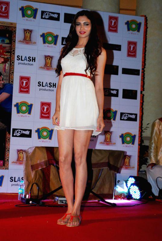 Actress Simran Kaur Mundi during the promotion of the film Kuku Mathur Ki Jhand Ho Gayi in Mumbai on May 03, 2014. - Simran Kaur Mundi