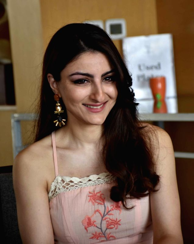 Actress Soha Ali Khan during a press conference in Hyderabad on March 25, 2017. - Soha Ali Khan