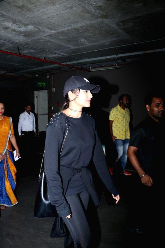 Actress Sonakshi Sinha spotted at airport. - Sonakshi Sinha