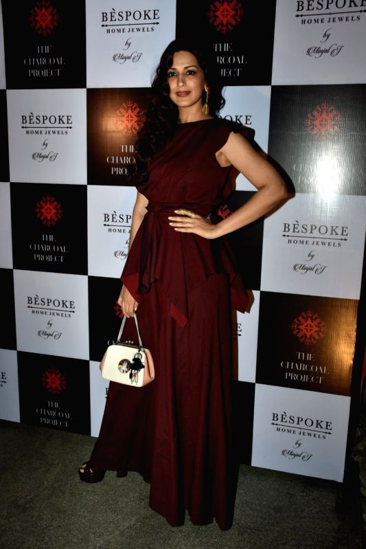 Actress Sonali Bendre at a store launch in Mumbai on April 13, 2018 . - Sonali Bendre