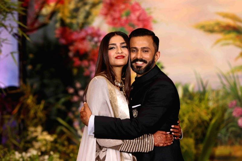 Anand Ahuja with Sonam
