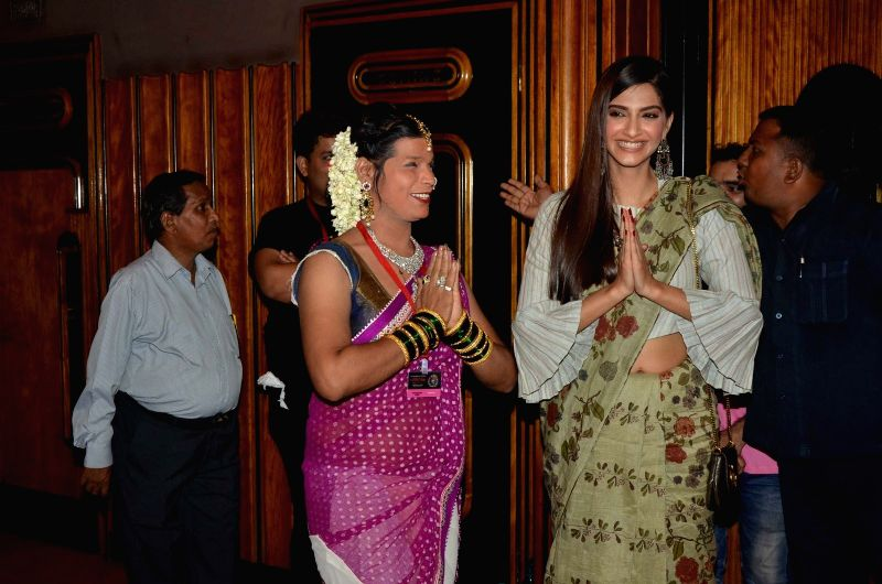 Actress Sonam Kapoor during the opening ceremony of the 7th Kashish Mumbai International Queer Film Festival in Mumbai on May 25, 2016. - Sonam Kapoor