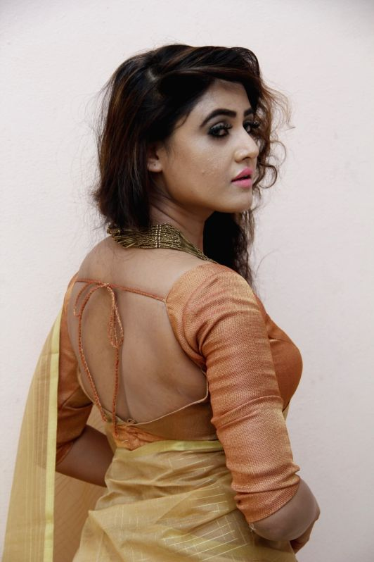 Actress Sony Charishta during a Glamourous photo shoot in Hyderabad - Sony Charishta