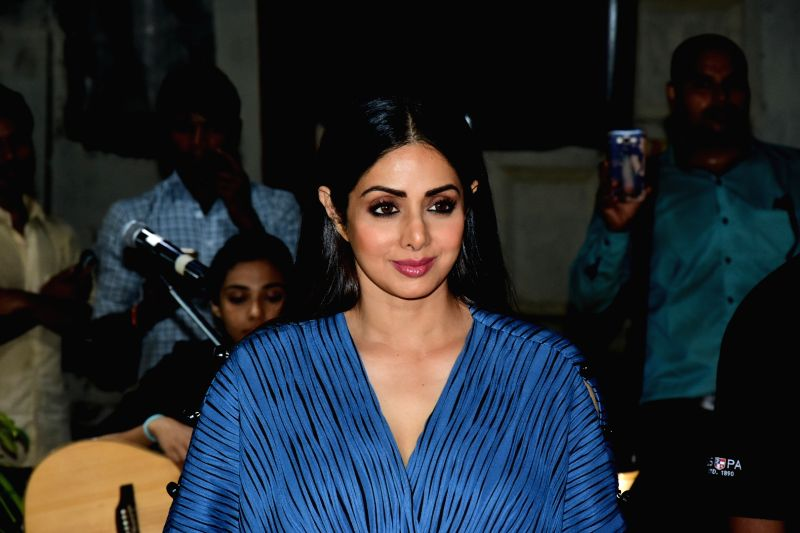 Launch of iPhone 8 and iPhone 8+ - Sridevi, Boney Kapoor - Sridevi