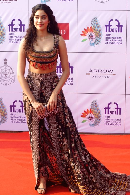 Actress Sridevi during the opening ceremony of 48th edition of International Film Festival of India (IFFI) - 2017 in Goa on Nov 20, 2017. - Sridevi