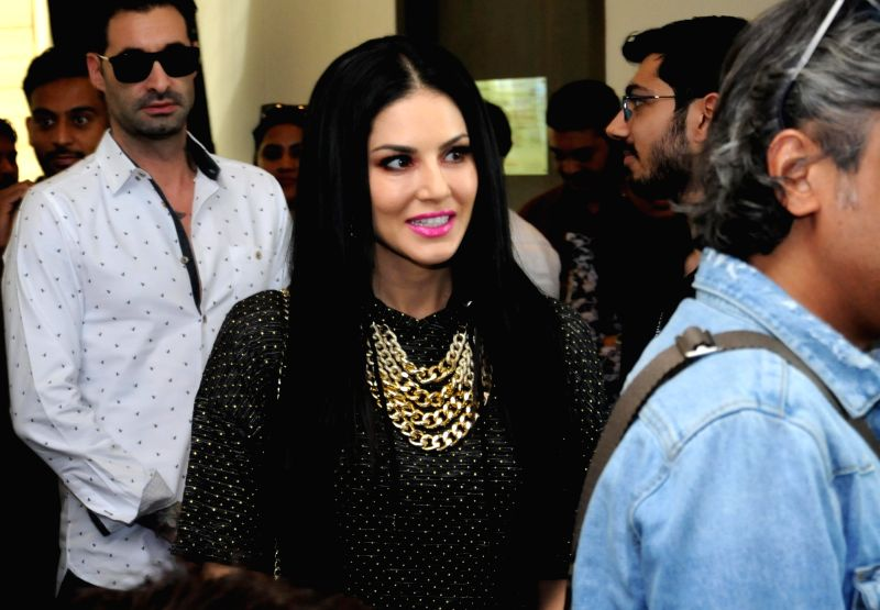 Actress Sunny Leone during a programme in Amritsar on June 1, 2018. - Sunny Leone