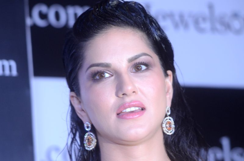 Actress Sunny Leone during a programme in Mumbai on April 18, 2017. - Sunny Leone