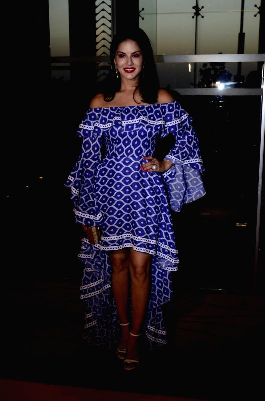 Fashion designer Maheka Mirpuri's summer collection - Sunny Leone