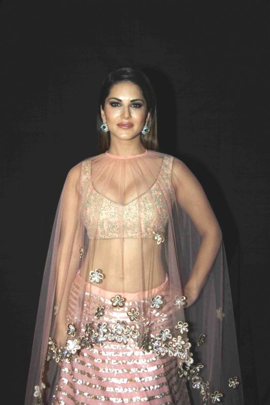 Actress Sunny Leone during the launch of bridal and festive collection of designer Archana Kochhar in Mumbai on Dec 10, 2015. - Sunny Leone