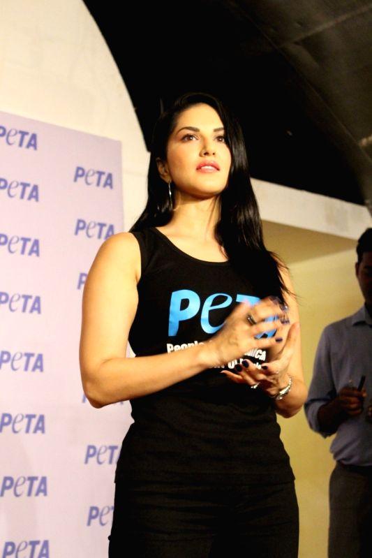 Sunny Leone launches PETA newest vegetarian campaign - Sunny Leone