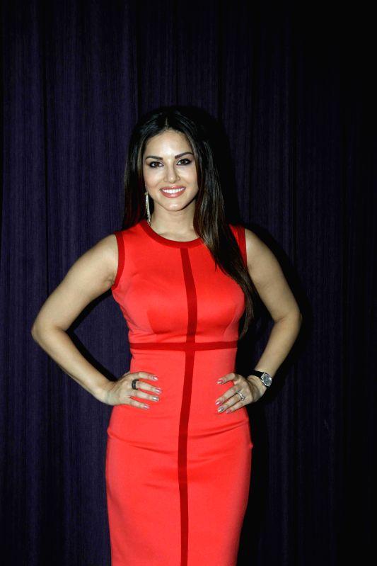 Actress Sunny Leone  during the promotion of film Ek Paheli Leela in Mumbai on March 30, 2015. - Sunny Leone