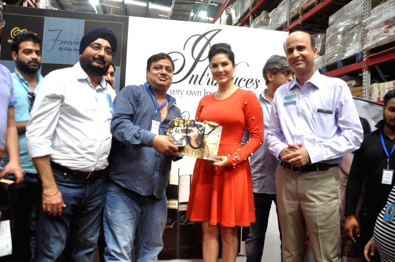 Actress Sunny Leone visits Walmart store in Zirakpur of Punjab on July 29, 2016. - Sunny Leone