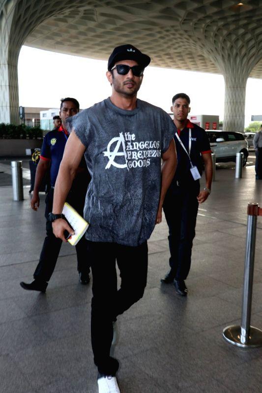Actress Sushant Sing Rajput travelling Ahmedabad for Raabta Promotion. - Sushant Sing Rajput
