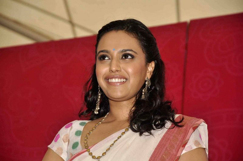 Actress Swara Bhaskar during a event organised by `People Konnect` at Phoenix Market City in Mumbai on 28 June 2015.