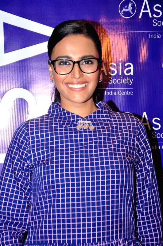Actress Swara Bhaskar during the third edition of New Voices Fellowship for Screenwriters in Mumbai on July 25, 2016. - Swara Bhaskar