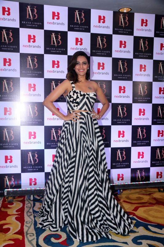 Actress Swara Bhasker at the Brand Vision Summit and Awards in Mumbai on Jan 30, 2018. - Swara Bhasker