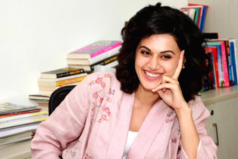 Actress Taapsee Pannu. (Image Source: IANS)