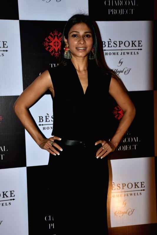 Actress Tanishaa Mukerji at a store launch in Mumbai on April 13, 2018 . - Tanishaa Mukerji